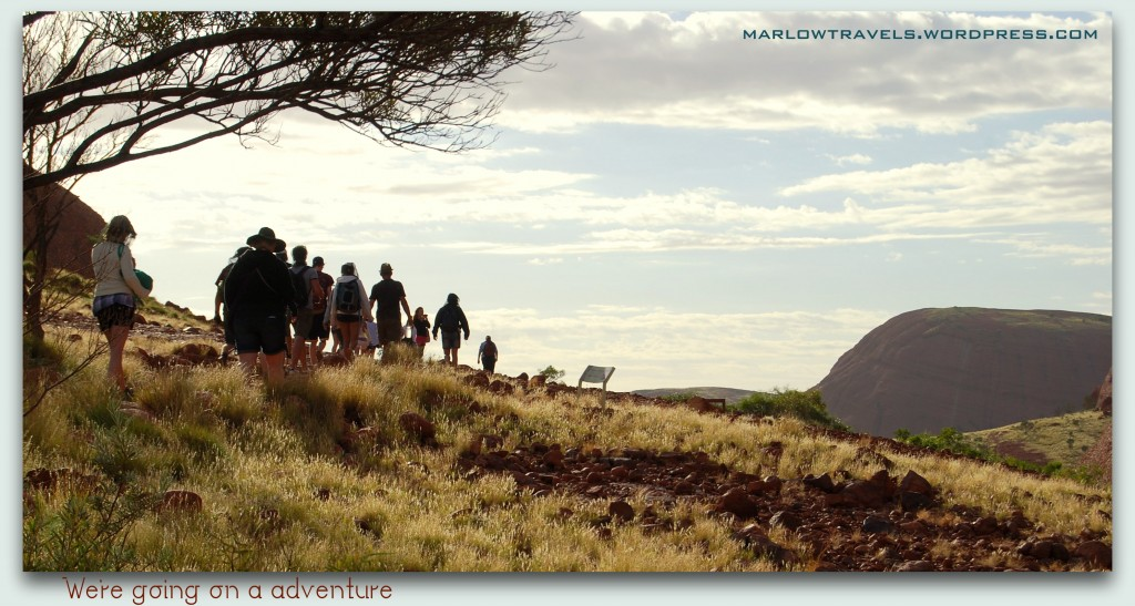 Hiking at Kata Tjuta, Outback, Australia | via It's Travel O'Clock