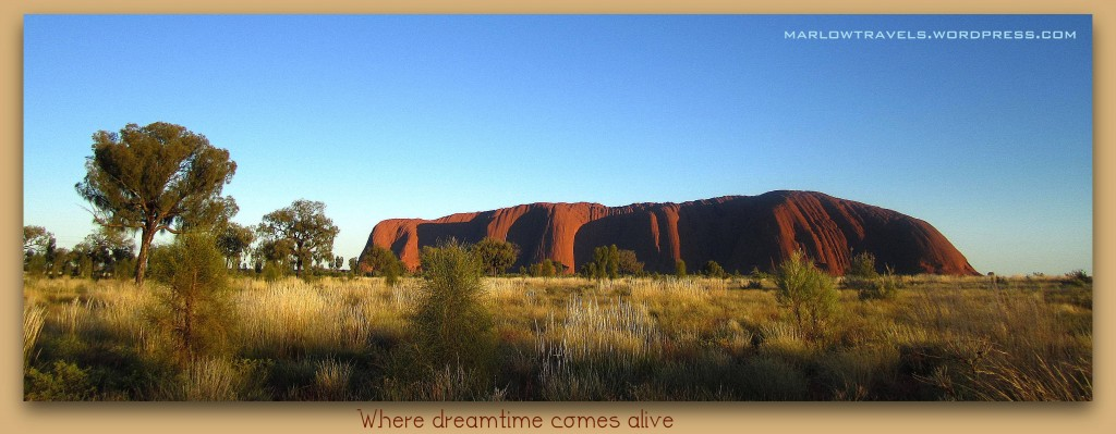 Watching the sun rise at Ayers Rock/Uluru in the Outback, Australia | via iIt's Travel O'Clock