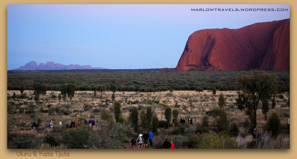 Sunrise at Kata Tjuta and Uluru in the Outback, Australia | via It's Travel O'Clock