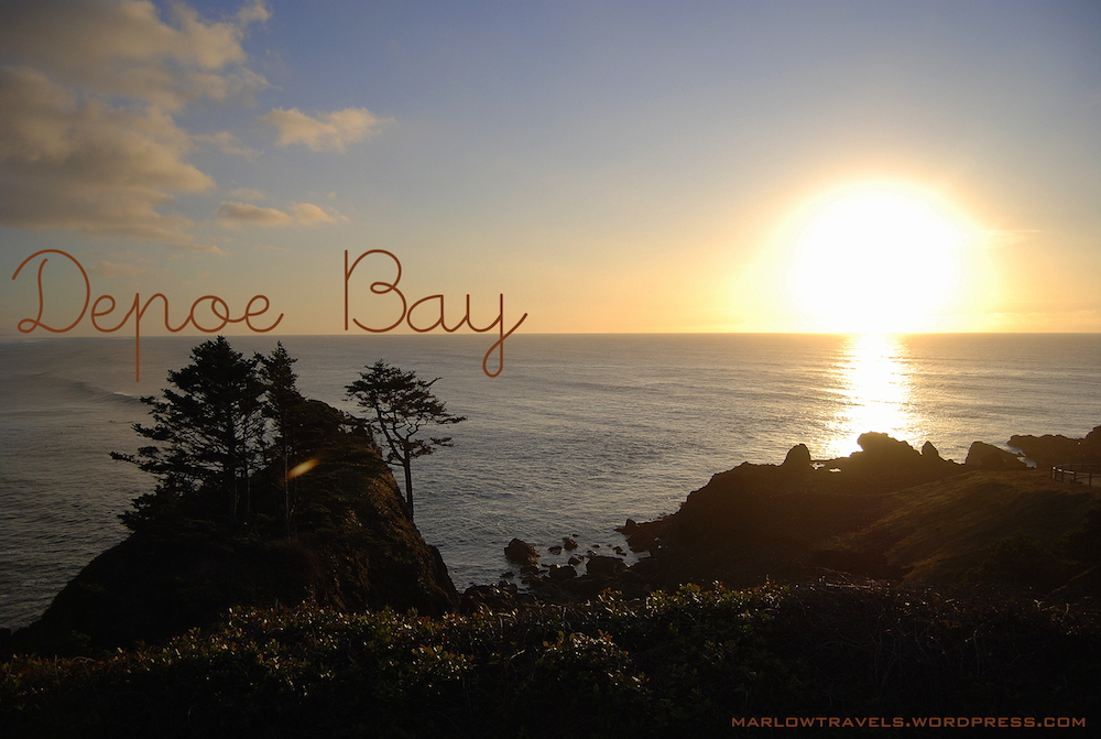 Sunkissed: Depoe Bay – Oregon, USA