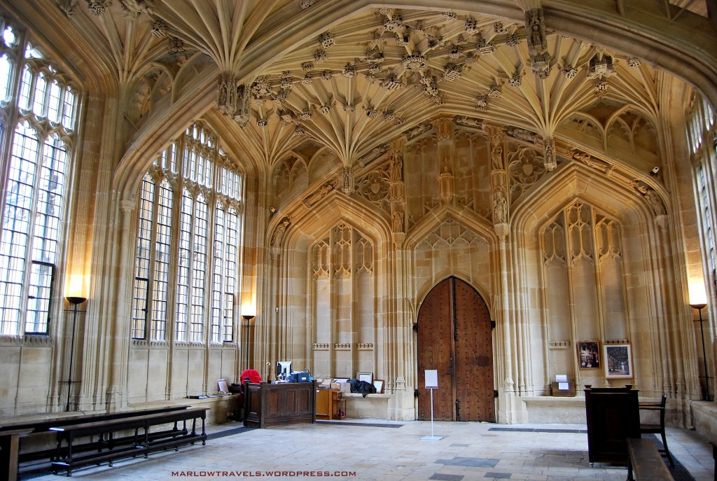Divinity School vs. Harry Potter - Oxford