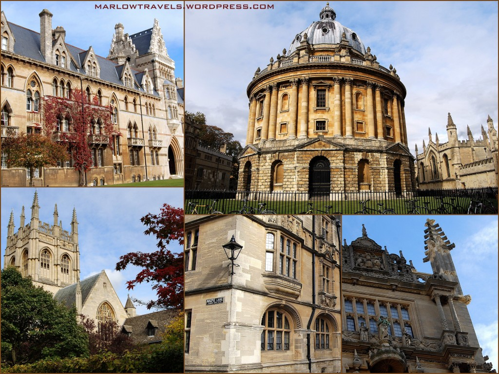 Oxford Buildings | via It's Travel O'Clock