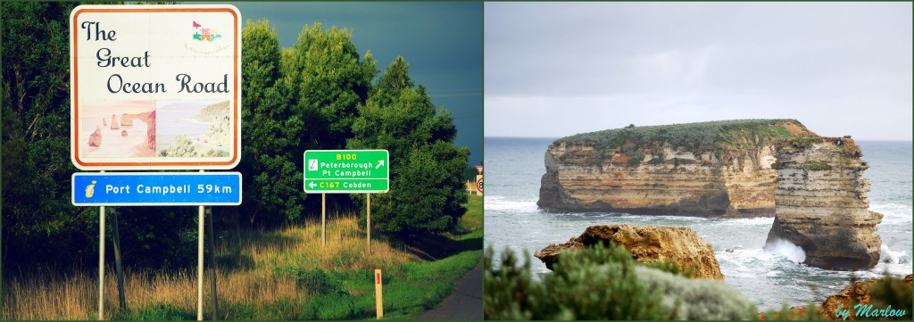 Great Ocean Road Entrance