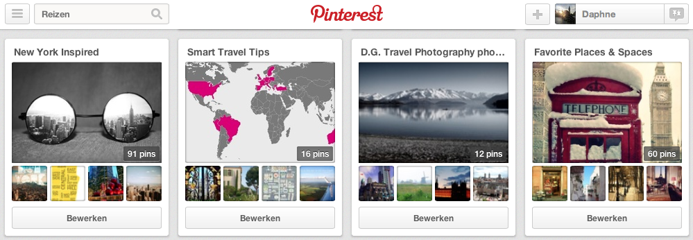 It's Travel O'Clock on Pinterest