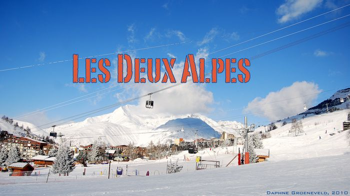Wintersport in Les Deux Alpes, Frankrijk | via It's Travel O'Clock