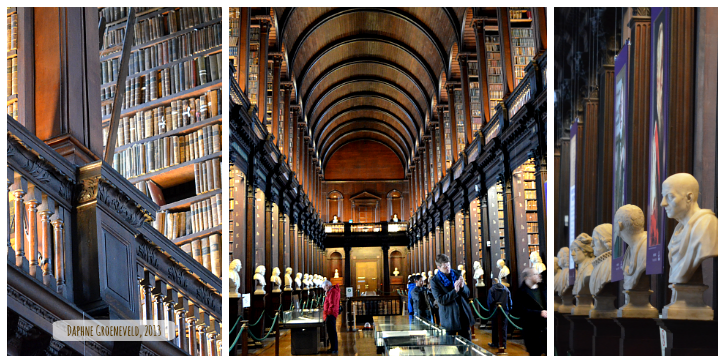 Trinity College Library Dublin It's Travel O'Clock