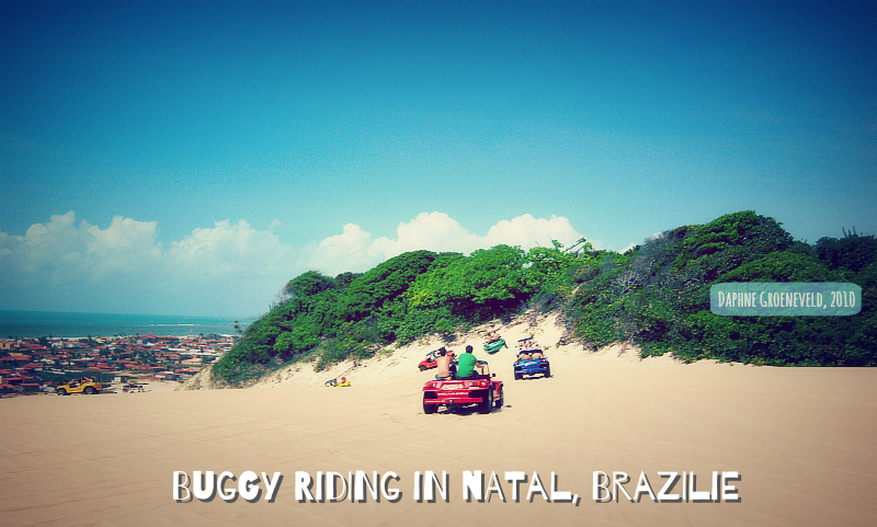 Buggy in de duinen van Natal, Brazilie - It's Travel O'Clock