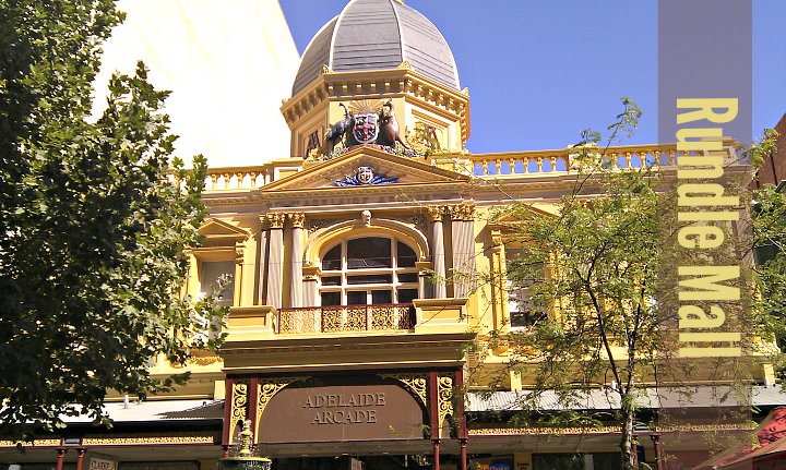Rundle Mall Adelaide_It's Travel O'Clock