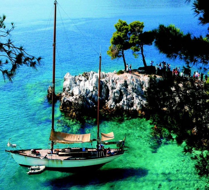 Skopelos island Greece