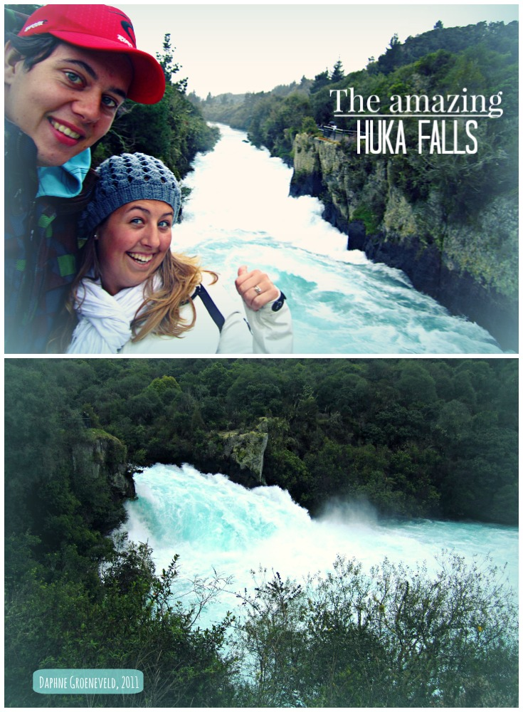 The amazing Huka Falls in New Zealand. It processes 220.000 litres of water a second.