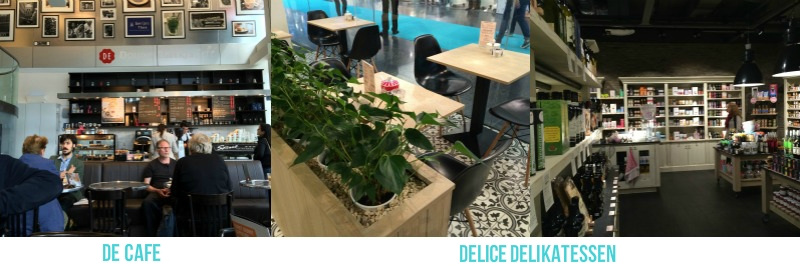 Het DE Cafe en Delice Delikatessen in New Babylon, Den Haag | Its' Travel O'Clock