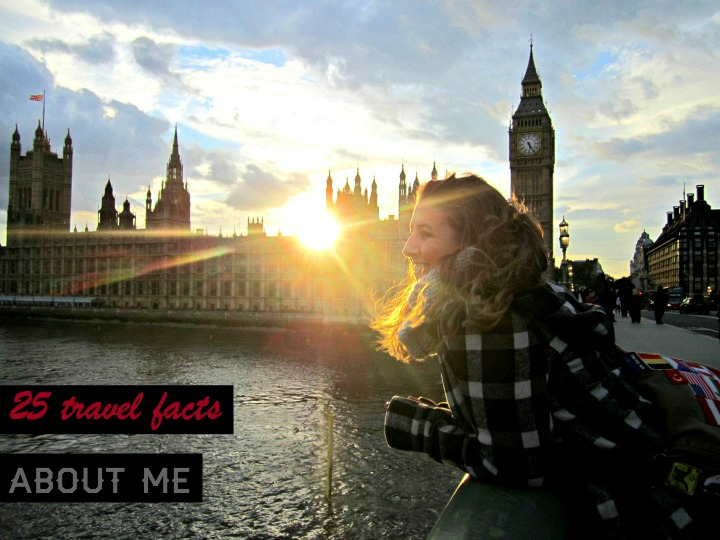 25 travel facts about me | It's Travel O'Clock