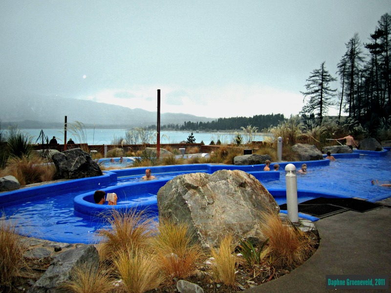 Tekapo Springs, Nieuw Zeeland via It's Travel O'Clock