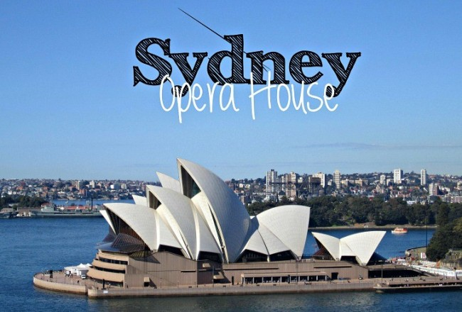 Sunkissed: The Opera House in Sydney - via It's Travel O'Clock