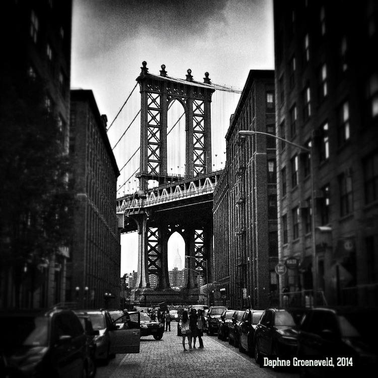 Manhattan Bridge, New York - via It's Travel O'Clock