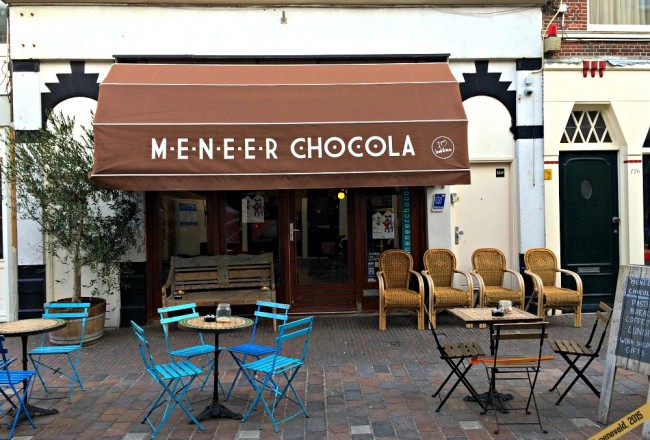 Meneer Chocola in Scheveningen - via It's Travel O'Clock