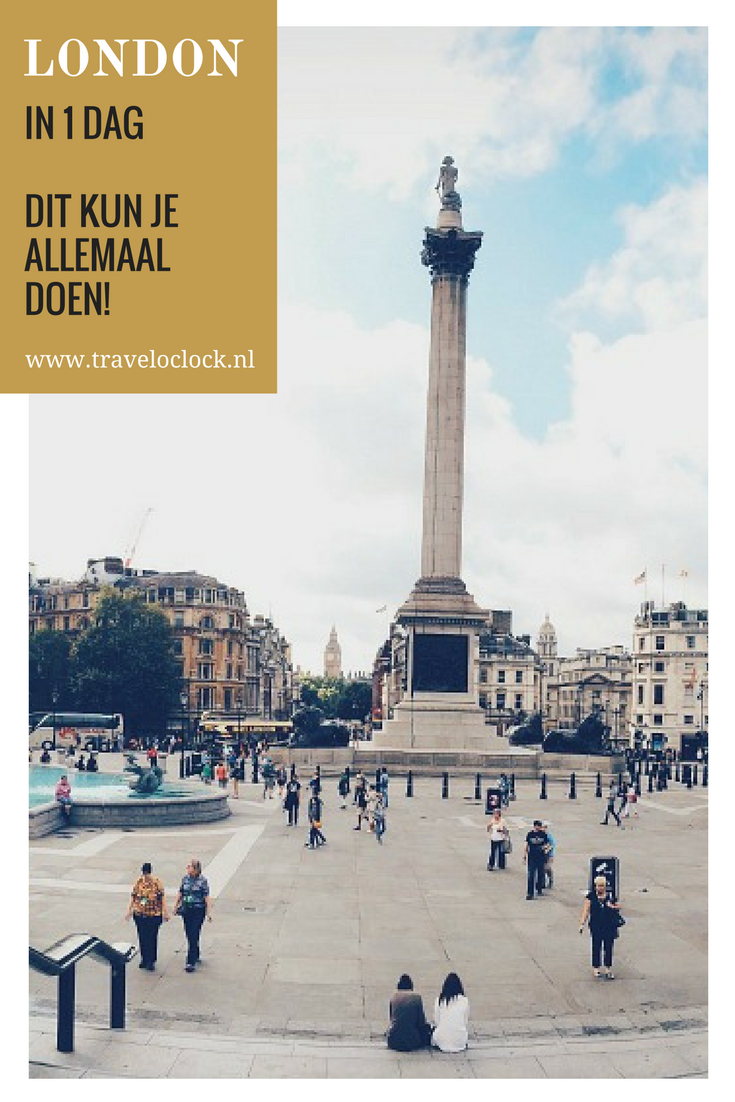 Londen in 1 dag | dit kun je allemaal doen in 1 dag | via It's Travel O'Clock