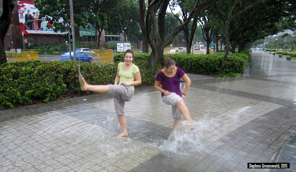 Regenseizoen in Singapore | via It's Travel O'Clock