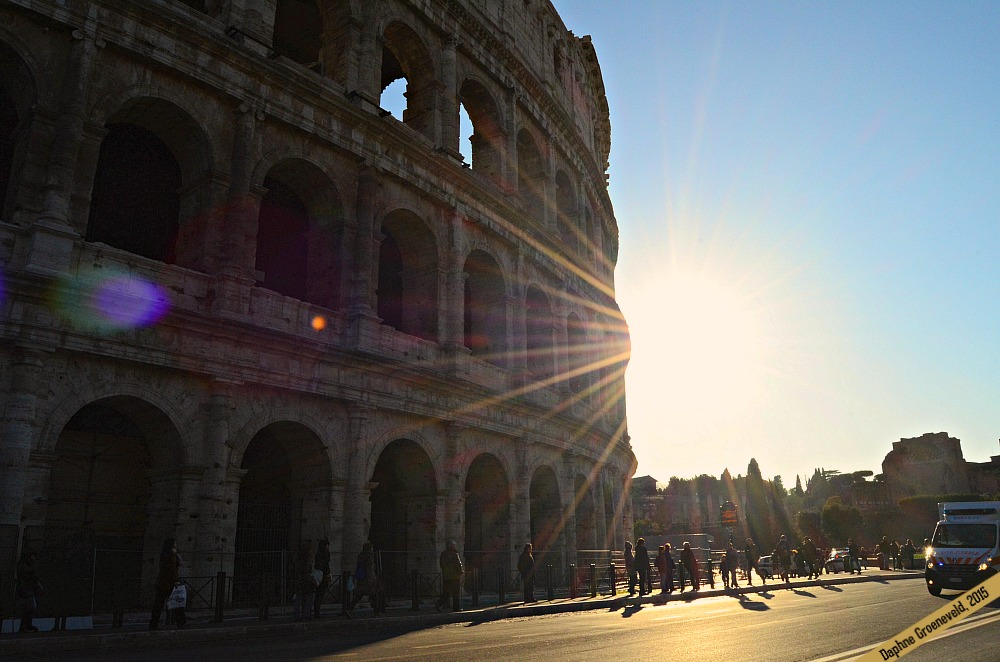Colosseum in Rome | via It's Travel O'Clock