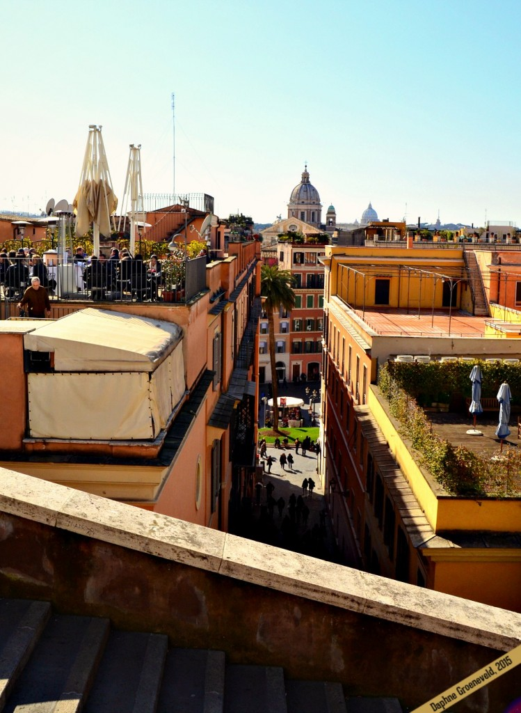 Rooftops of Rome, next to the Spanish Steps | via It's Travel O'Clock