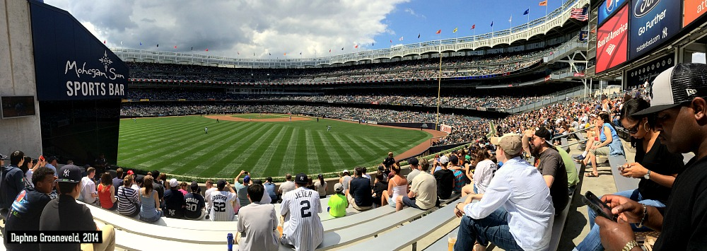 Go and see a Yankees game when in New York | via it's Travel O'Clock