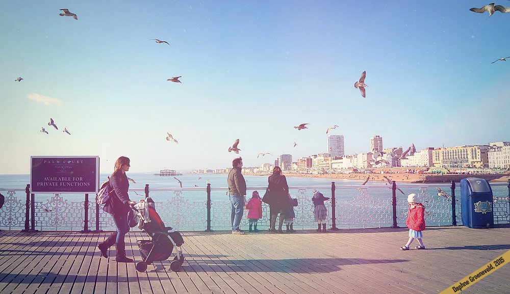 Visit the seaside city of Brighton in England | via It's Travel O'Clock