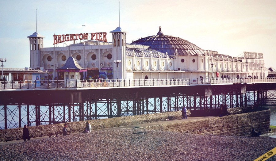 Brighton is an easy, fun and short day trip from London | via It's Travel O'Clock