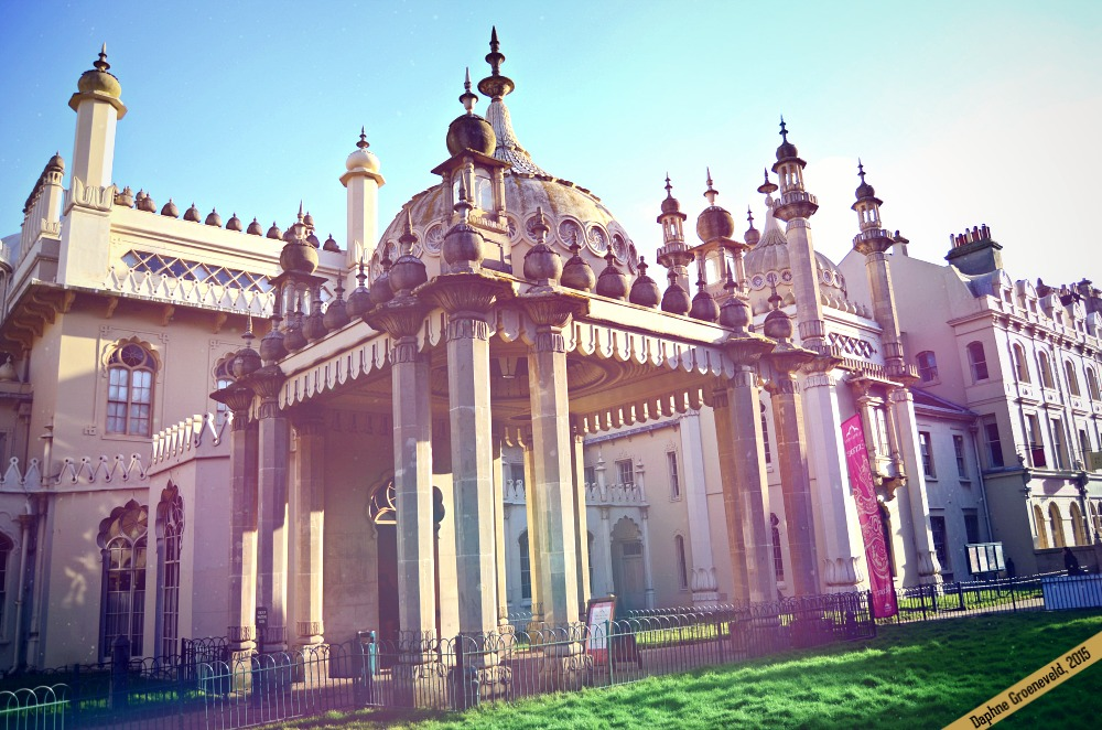 The Royal Pavilion in Brighton | via It's Travel O'Clock