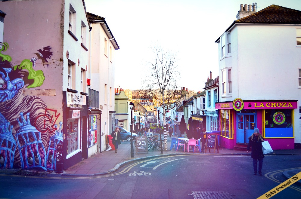 The colourful and edgy streets of Brighton | via It' travel O'Clock