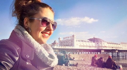 Soak up the sun in Brighton | via It's Travel O'Clock