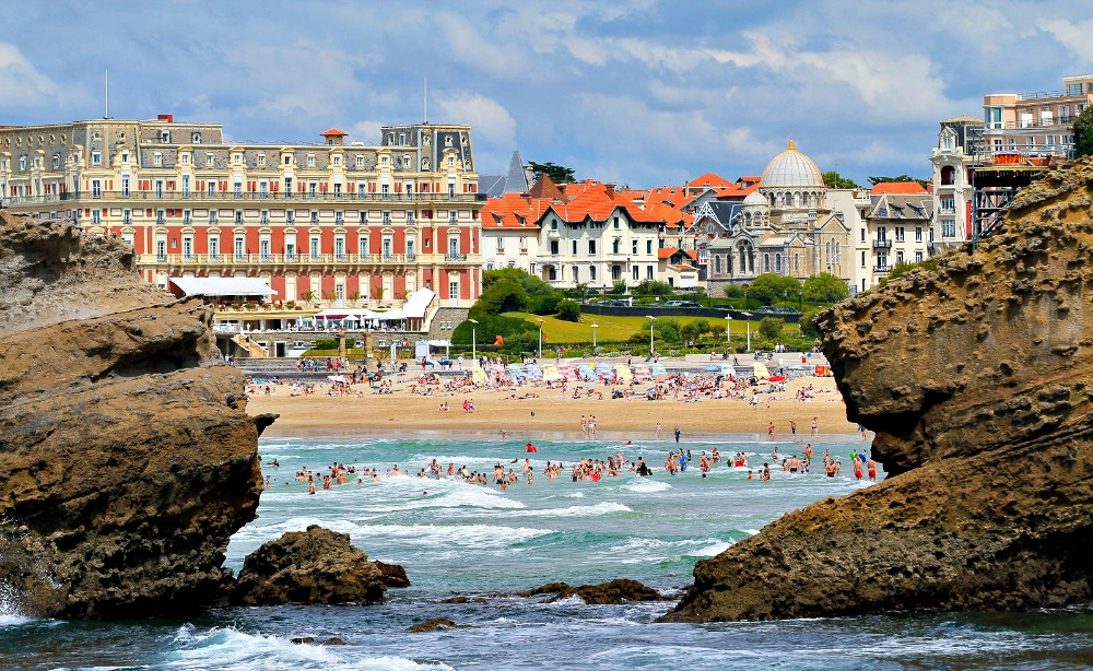 Biarritz, France | via It's Travel O'Clock