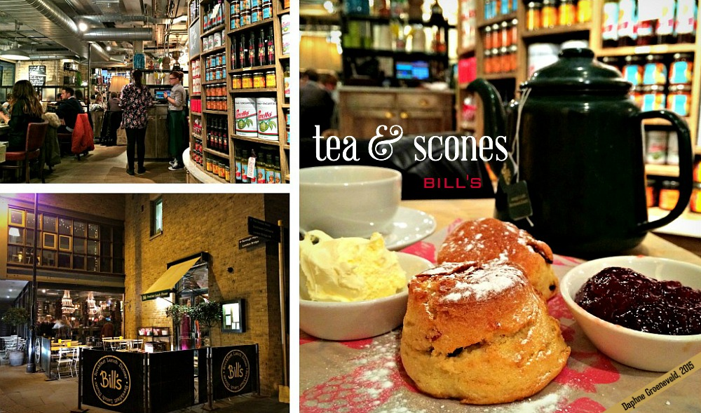 When in London, have some tea & scones at Bill's on Clink Street | via It's Travel O'Clock