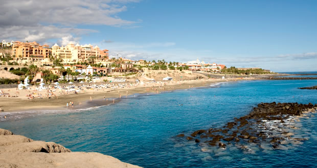 Costa Adeje, Tenerife, Spain | via It's Travel O'Clock