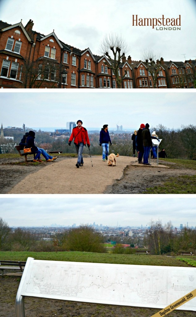 On a sunny day visit Hampstead Heath to have a stunning view over the London skyline | via It's Travel O'Clock