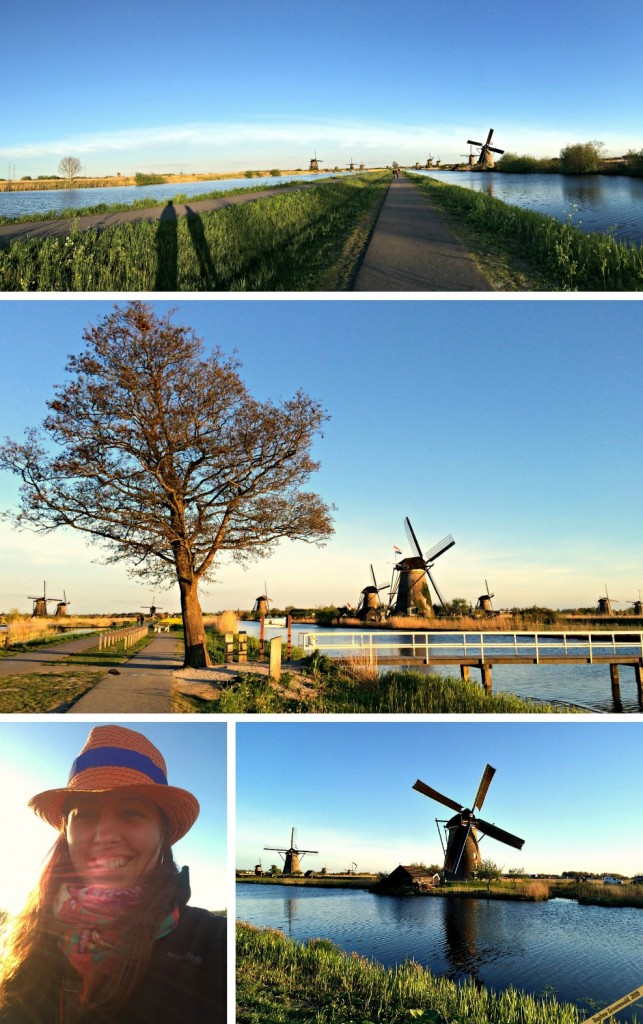 Wander around the windmills of Kinderdijk | via It's Travel O'Clock