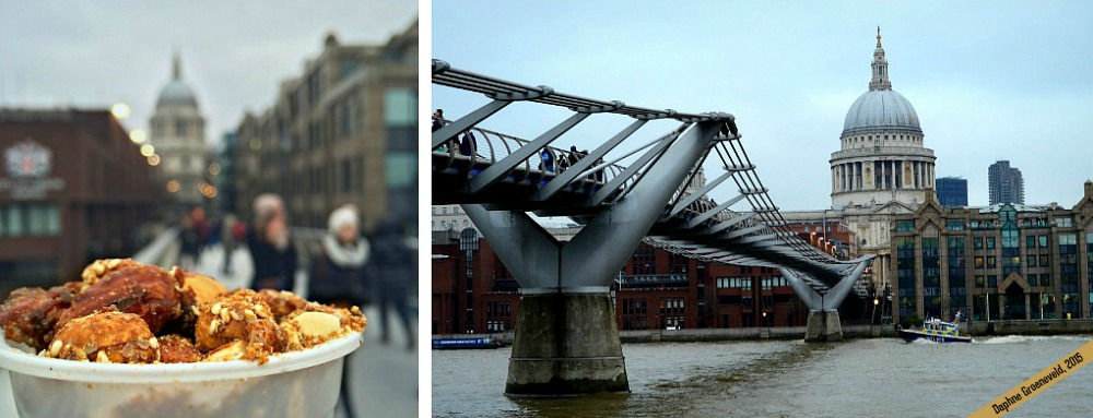 St. Paul's Cathedral and Millennium Bridge | via it's Travel O'Clock