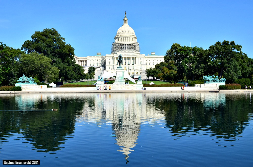 The United States Capitol in Washington DC | via It's Travel O'Clock