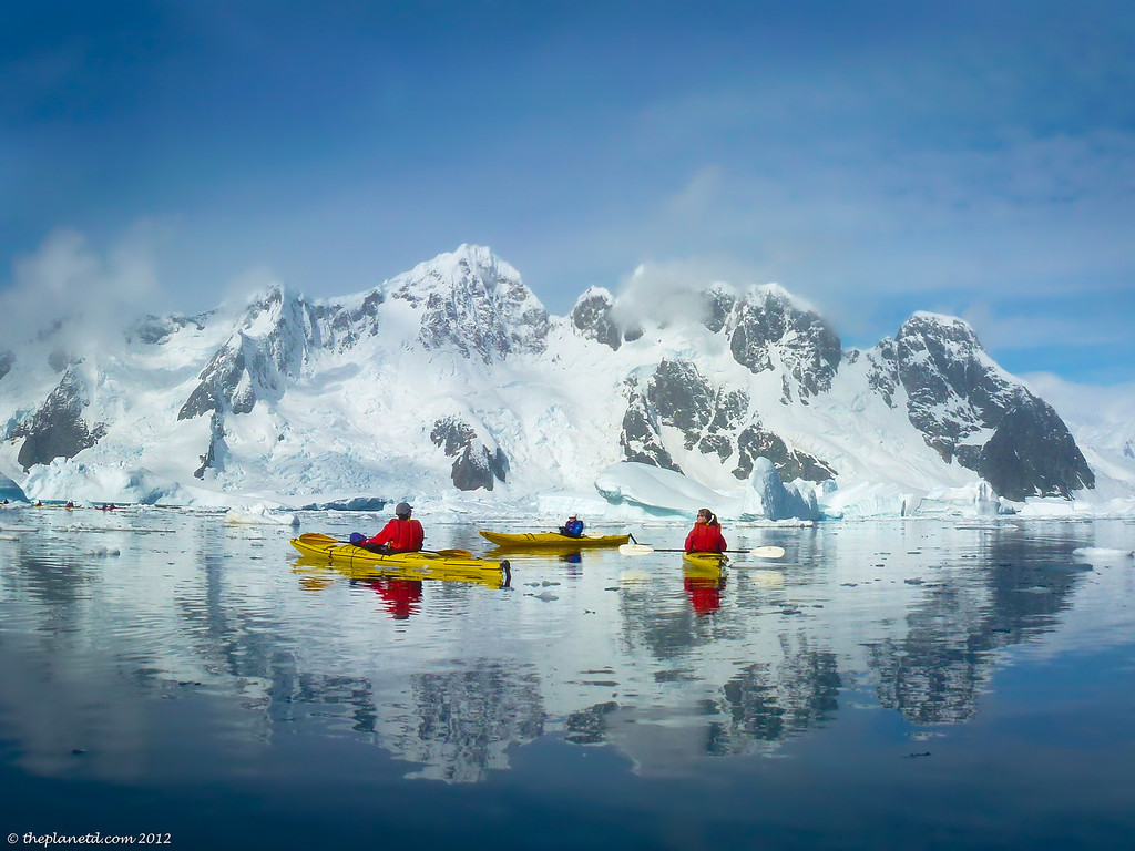 Living the dream, kayaking in Antarctica | via It's Travel O'Clock