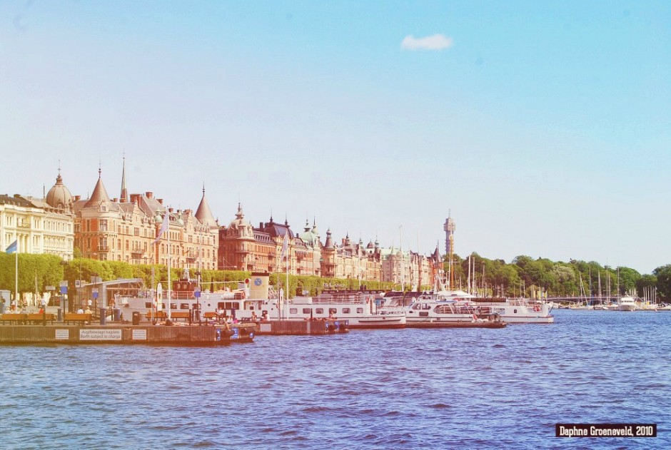 Sunkissed, zomer in Stockholm | via It's Travel O'Clock