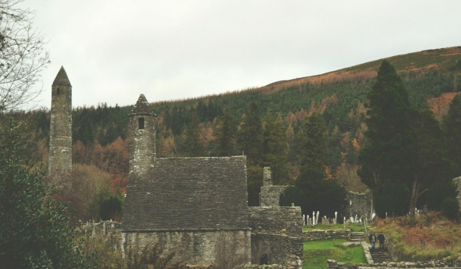 Glendalough, Ireland | via It's Travel O'Clock