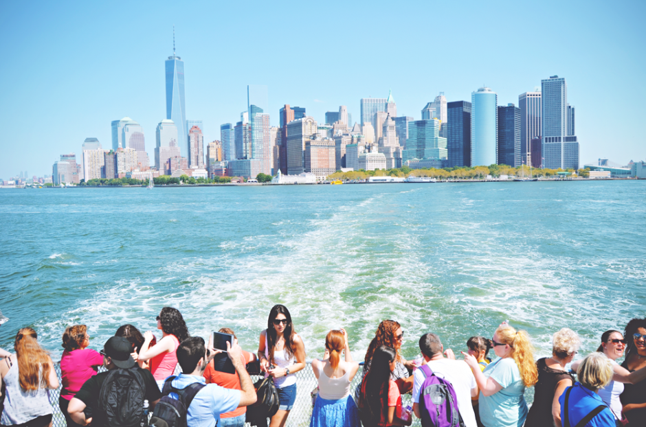 De stralende skyline van New York | via It's Travel O'Clock