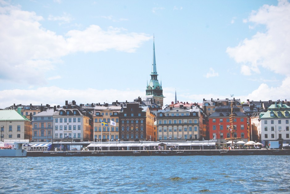 Sunkissed | Stockholm vanaf het water | via it's Travel O'Clock