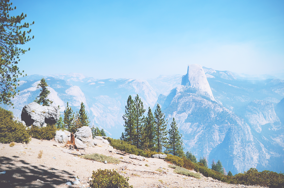 Sunkissed | oog in oog met Half Dome in Yosemite National Park