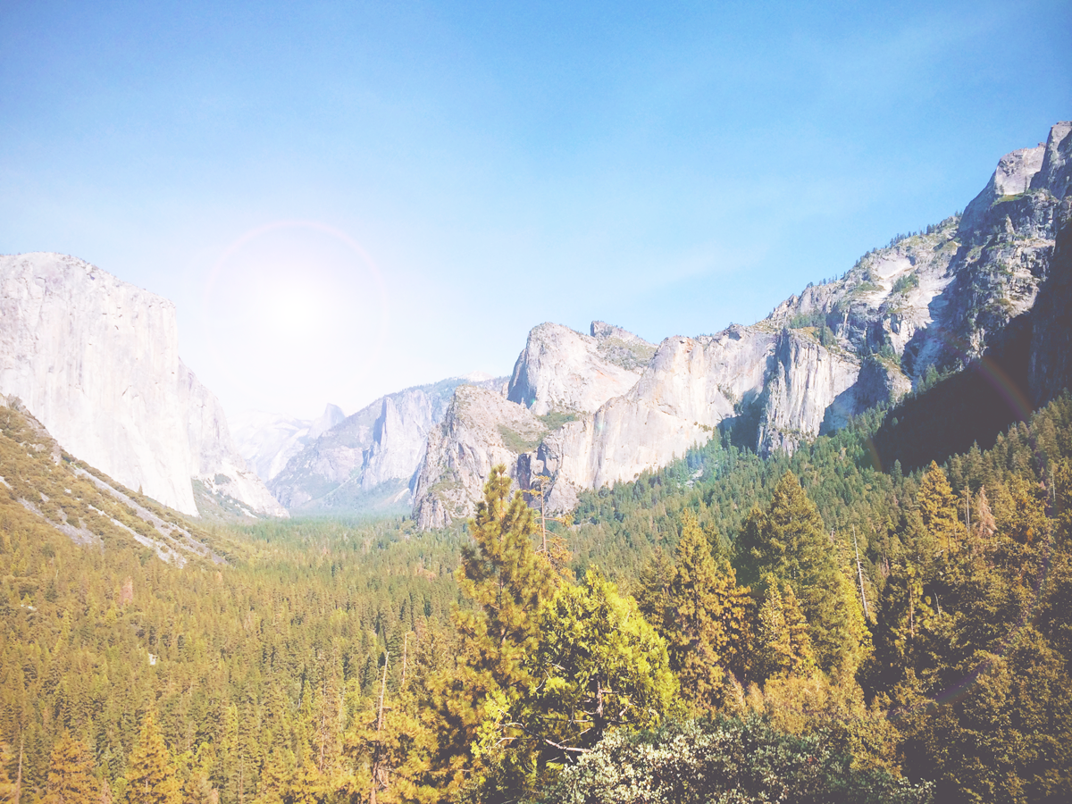 Sunkissed | zinderende hitte in Yosemite National Park