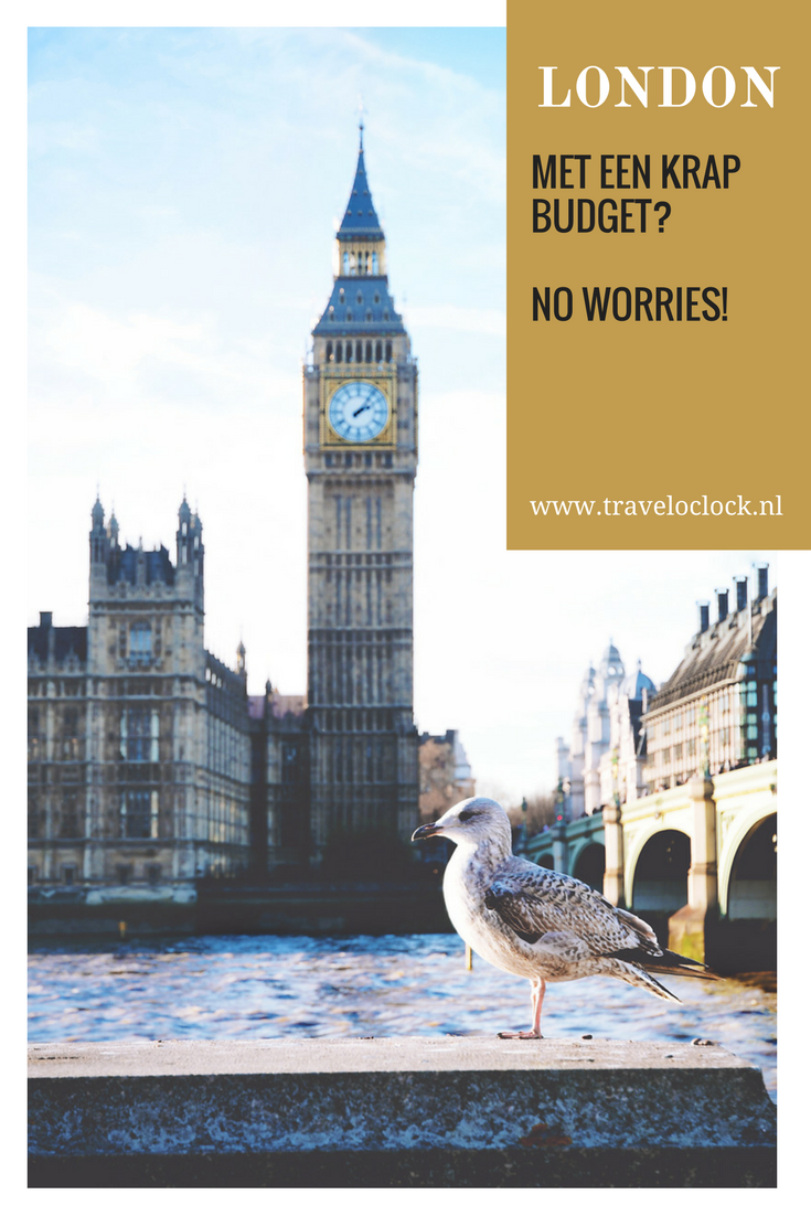 Stedentrip Londen met een klein budget? No worries! | via It's Travel O'Clock