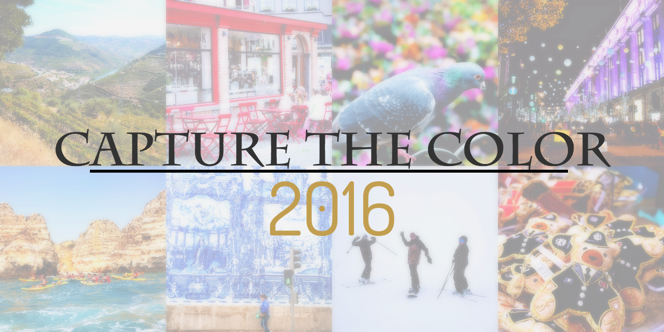 Capture the Color 2016 - een fotgrafische reis in acht kleuren | via It's Travel O'Clock