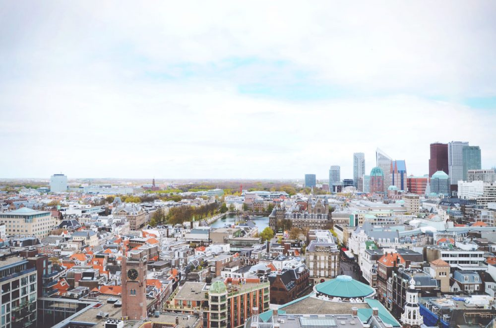 Skyline of The Hague (Den Haag), the Netherlands | via It's Travel O'Clock