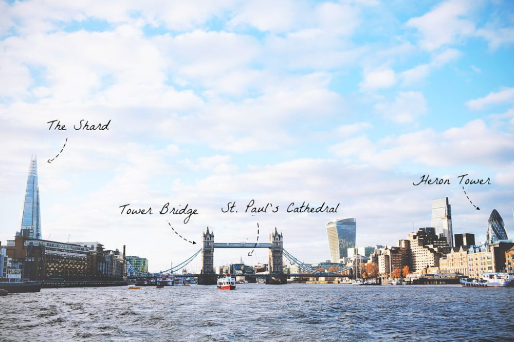 Uitzichtpunten in Londen, gratis & betaald | via It's Travel O'Clock