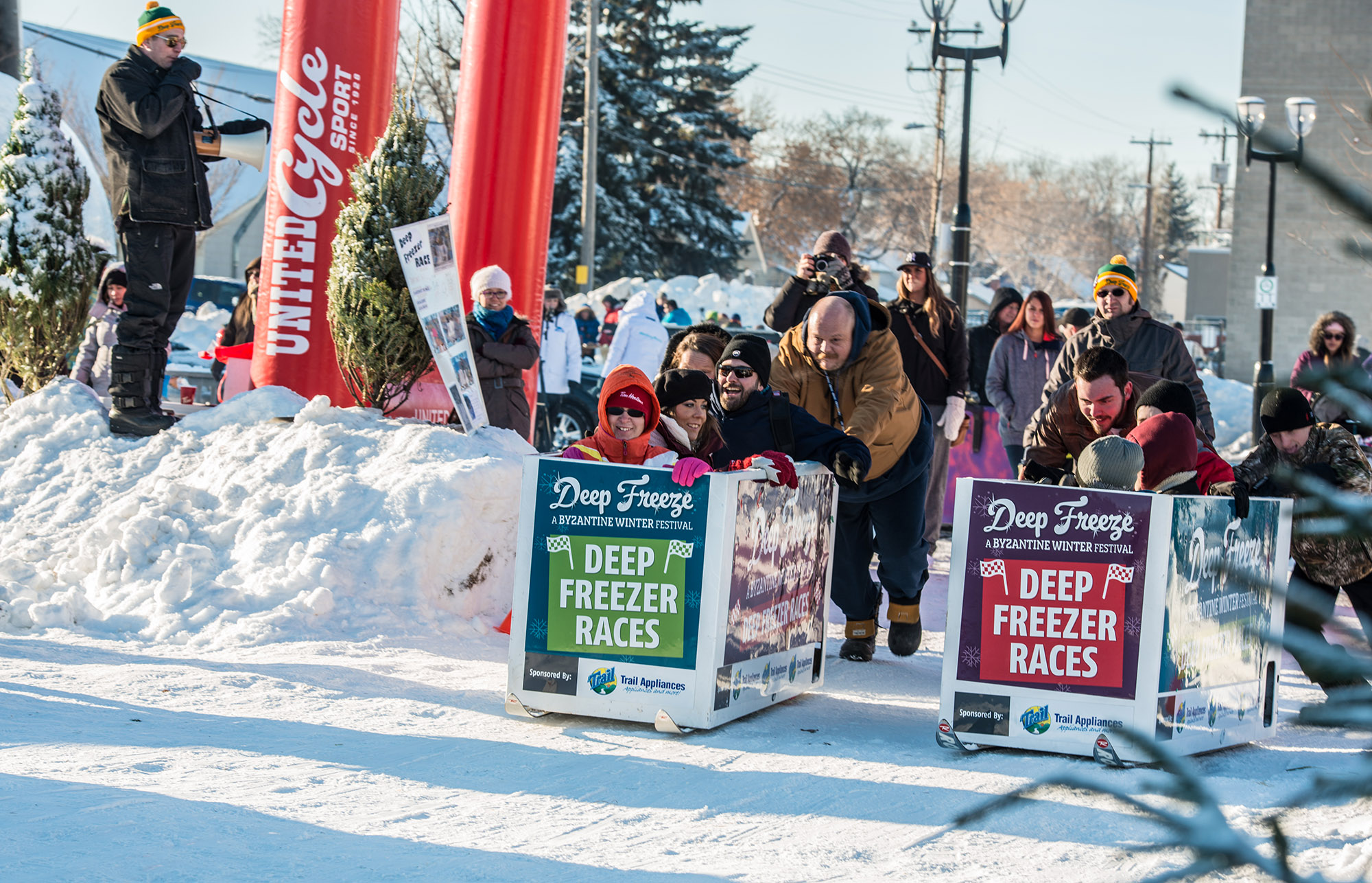 Edmonton Deep Freezer Race
